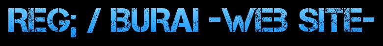 Reg; / BURAI -Web Site- Logo
